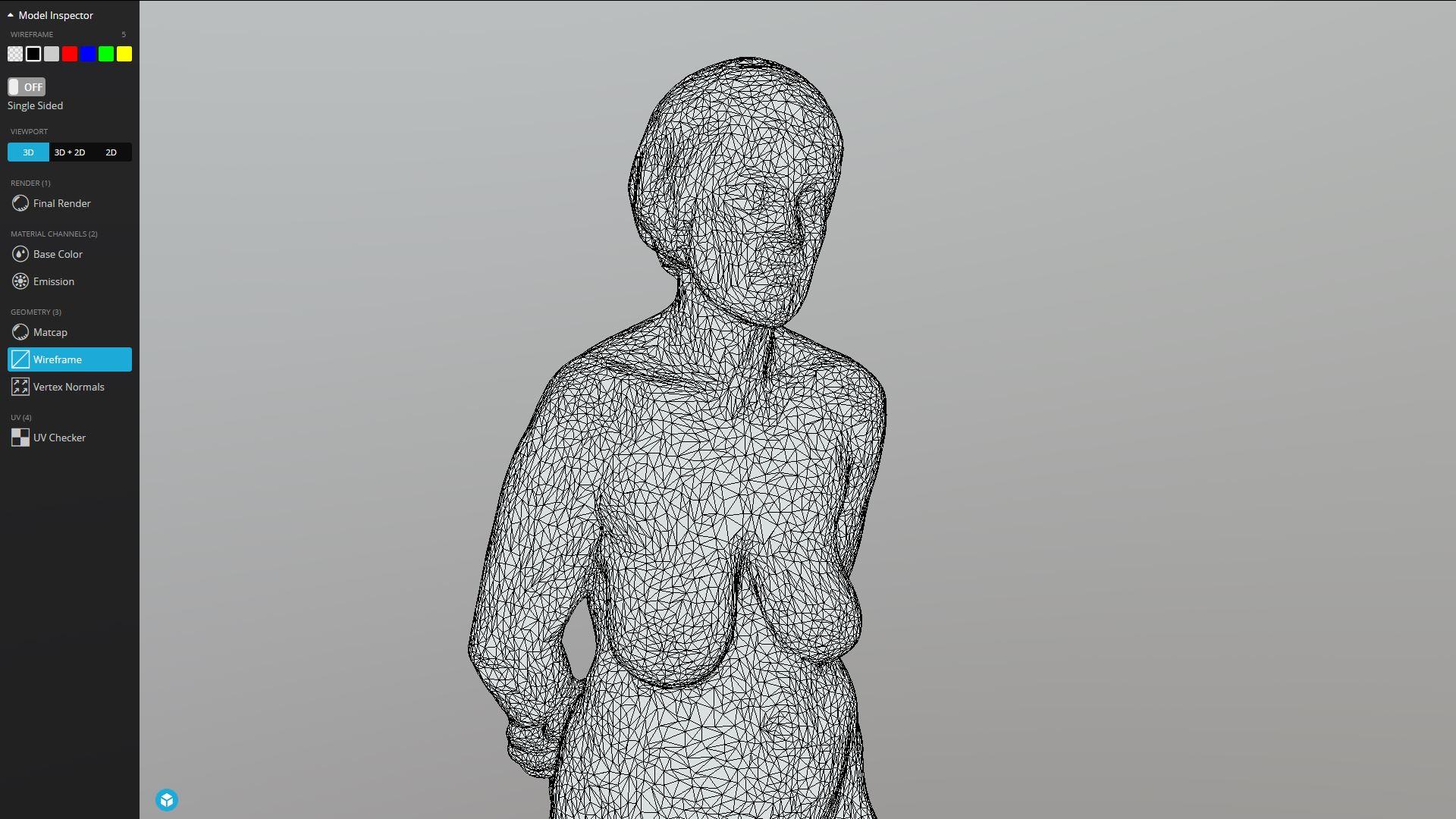 Scan of a sculpture
