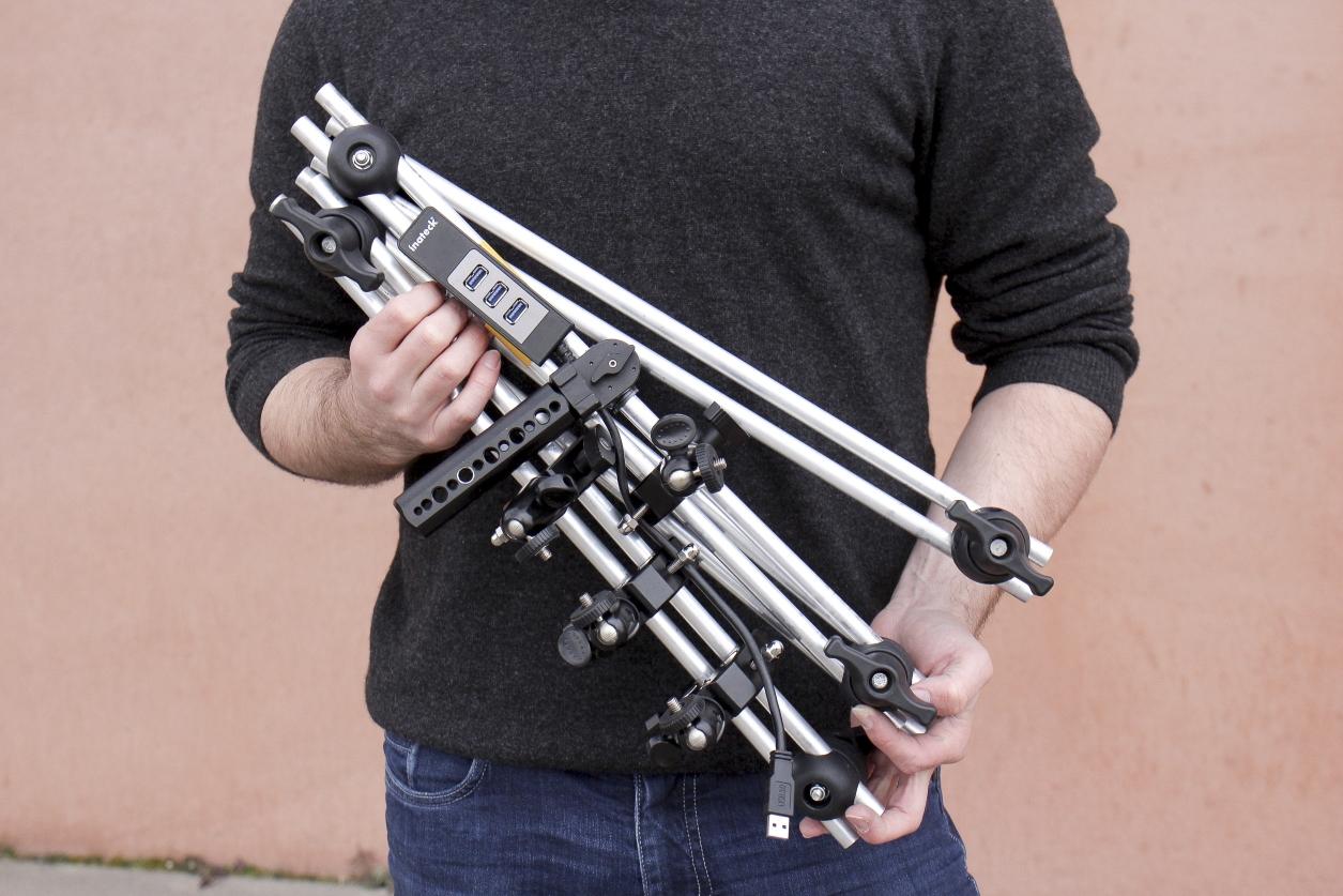 Handheld Photogrammetry Scanner Transportable
